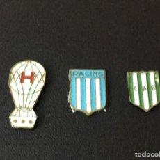 Coleccionismo deportivo: INSIGNIAS FUTBOL ARGENTINA 1ª DIVISION SIN ENGANCHE. Lote 147336790