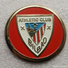 Coleccionismo deportivo: ATHLETIC CLUB BILBAO PLACA ADESIVA PARA COCHE 75 MM. DE DIAMETRO. Lote 148181026