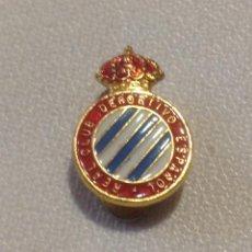 Coleccionismo deportivo: INSIGNIA SOLAPA/OJAL REAL CLUB DEPORTIVO ESPAÑOL. Lote 148230146