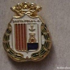 Colecionismo desportivo: PIN DE FÚTBOL -SANTA POLA CLUB DE FÚTBOL - ALICANTE.. Lote 206941395