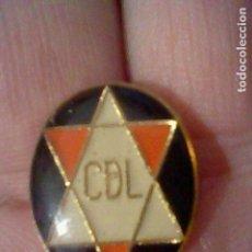 Coleccionismo deportivo: LOGROÑES DEPORTIVO CLUB FUTBOL PIN GOTA . Lote 151437478