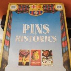 Coleccionismo deportivo: COLECCIÓN PINS HISTÓRICOS BARÇA. Lote 151482758
