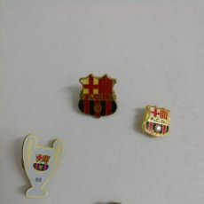 Coleccionismo deportivo - Colección 4 pins del Barça - 152872266