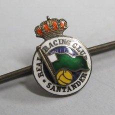 Coleccionismo deportivo: INSIGNIA PISACORBATA REAL RACING CLUB SANTANDER. Lote 153246762