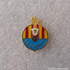 Coleccionismo deportivo: PIN - INSIGNIA DE FÚTBOL. UD ALGINET (ALGINET, VALENCIA).. Lote 153257726