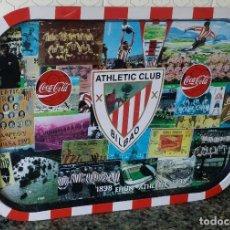 Coleccionismo deportivo: ATHLETIC CLUB BILBAO BANDEJA METALICA CONMEMORATIVA. Lote 155694098