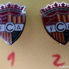 Coleccionismo deportivo: INSIGNIAS DEL FC ANDORRA. Lote 155707542