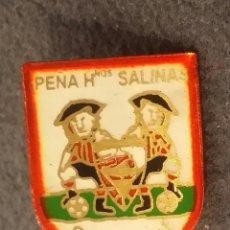 Coleccionismo deportivo: ATHLETIC CLUB BILBAO PIN PEÑA HNOS. SALINAS. Lote 156358694