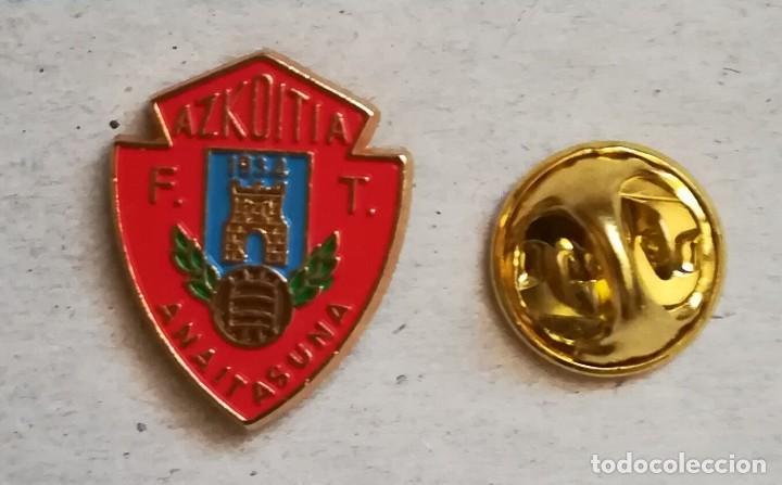 PIN FÚTBOL - CLUB DEPORTIVO ANAISTASUNA DE GUIPÚZCOA. (Coleccionismo Deportivo - Pins de Deportes - Fútbol)