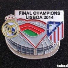 Coleccionismo deportivo: PRECIOSO PIN FINAL CHAMPIONS LISBOA 2014. Lote 156991022