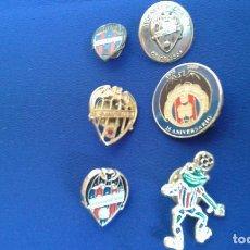 Coleccionismo deportivo: PINS DEL LEVANTE UNION DEPORTIVA. Lote 158174514