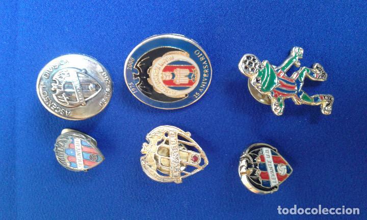 Coleccionismo deportivo: PINS DEL LEVANTE UNION DEPORTIVA- ANIVERSARIOS - Foto 2 - 158174514