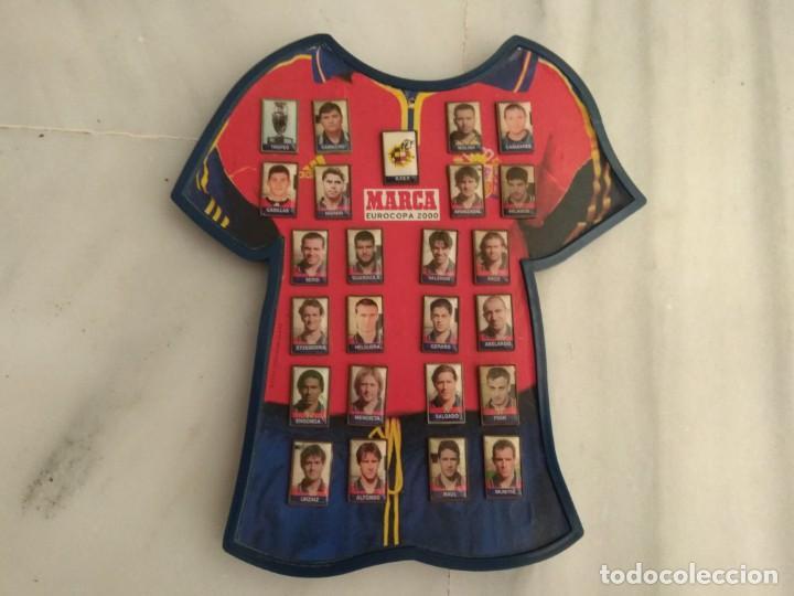 PINS SELECCIÓN ESPAÑOLA EUROCOPA 2000 (Coleccionismo Deportivo - Pins de Deportes - Fútbol)