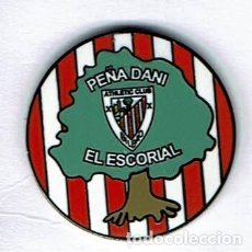 Coleccionismo deportivo: PEÑA DANI DEL ATHLETIC CLUB DE EL ESCORIAL. Lote 158854482