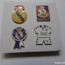 Coleccionismo deportivo: LOTE DE 4 PINS DEL REAL MADRID. Lote 165738478