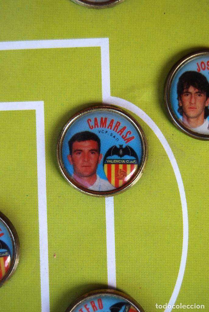 Coleccionismo deportivo: LOTE DE 21 PINS ALINEACIÓN VALENCIA C F TEMPORADA 95-96 MESTALLA LINEVA . DIFÍCIL - Foto 8 - 165994658