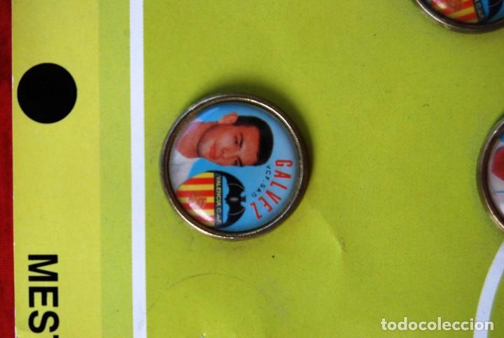 Coleccionismo deportivo: LOTE DE 21 PINS ALINEACIÓN VALENCIA C F TEMPORADA 95-96 MESTALLA LINEVA . DIFÍCIL - Foto 9 - 165994658