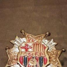 Coleccionismo deportivo: INSIGNIA SOLAPA FUTBOL CLUB BARCELONA. Lote 169061005