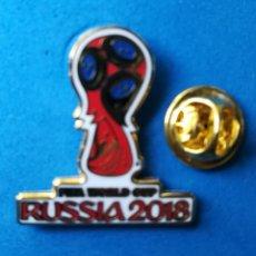 Collectionnisme sportif: PIN DE FÚTBOL - MUNDIAL DE RUSIA 2018.. Lote 195897755