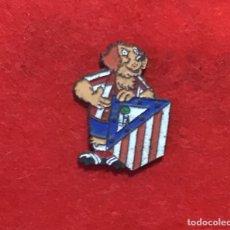 Coleccionismo deportivo: PIN ATLÉTICO MADRID AÑOS 90. Lote 169350220