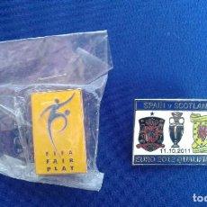 Coleccionismo deportivo: LOTE PINS EURO 2012 Y FIFA. Lote 169468768