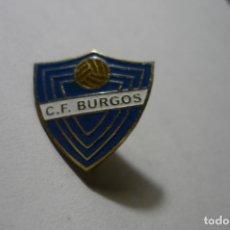 Coleccionismo deportivo: PIN FUTBOL CF BURGOS. Lote 169707132