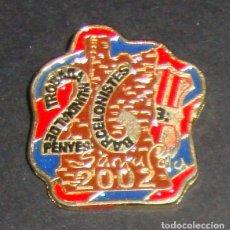 Coleccionismo deportivo: (TC-114-10) PIN F. C. BARCELONA BARÇA 26 TROBADA NUNDIAL DE PENYES BARCELONISTES SANTA POLA 2002. Lote 170066057
