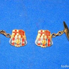 Coleccionismo deportivo: CF BARCELONA. ANTIGUO PAR DE GEMELOS. Lote 170169432