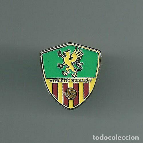 INSIGNIA / PIN DE EQUIPO DE FÚTBOL - ATHLETIC HUIALFAS (Coleccionismo Deportivo - Pins de Deportes - Fútbol)