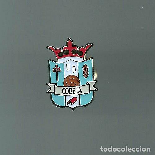 INSIGNIA / PIN DE EQUIPO DE FÚTBOL - U.D. COBEJA (Coleccionismo Deportivo - Pins de Deportes - Fútbol)