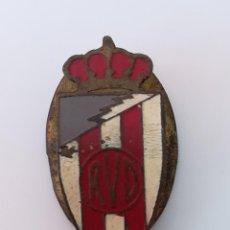 Coleccionismo deportivo: INSIGNIA OJAL SOLAPA RVD VALLADOLID - PIN RVD VALLADOLID. Lote 171639330