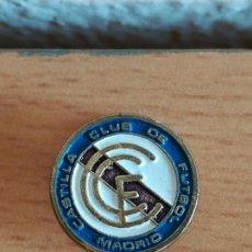 Coleccionismo deportivo: INSIGNIA HOJAL CASTILLA CLUB DE FÚTBOL MADRID - PIN FILIAL REAL. Lote 171794602