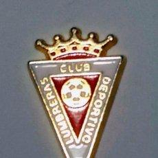 Coleccionismo deportivo: PIN ESCUDO C.D. LUMBRERAS - PUERTO LUMBRERAS (MURCIA). Lote 171838574