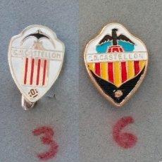 Coleccionismo deportivo: INSIGNIAS DEL CASTELLON. Lote 153479690