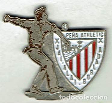PEÑA ATHLETIC CLUB JAI ALAI DE BURLADA (Coleccionismo Deportivo - Pins de Deportes - Fútbol)