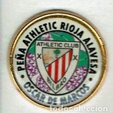 Coleccionismo deportivo: PEÑA ATHLETIC RIOJA ALAVESA OSCAR DE MARCOS. Lote 173630050