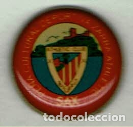 PEÑA CULTURAL DEPORTIVA ZARRA-SAX DEL ATHLETIC CLUB (Coleccionismo Deportivo - Pins de Deportes - Fútbol)