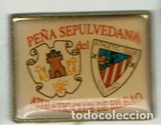 PEÑA SEPULVEDANA DEL ATHLETIC CLUB (Coleccionismo Deportivo - Pins de Deportes - Fútbol)