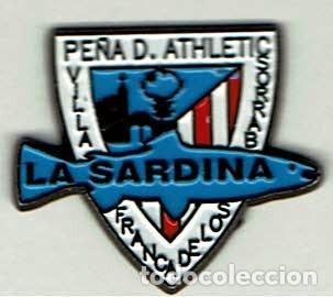 PEÑA ATHLETIC LA SARDINA DE VILLAFRANCA DE LOS BARROS (Coleccionismo Deportivo - Pins de Deportes - Fútbol)