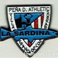Coleccionismo deportivo: PEÑA ATHLETIC LA SARDINA DE VILLAFRANCA DE LOS BARROS. Lote 173630599