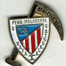 Coleccionismo deportivo: PEÑA IRALABARRI RAFA ALKORTA DEL ATHLETIC CLUB. Lote 173630773