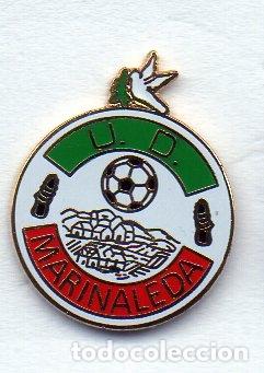 MARINALEDA U.D.-MARINALEDA-SEVILLA (Coleccionismo Deportivo - Pins de Deportes - Fútbol)