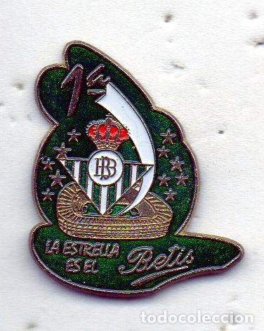BETIS REAL BALOMPIE ( PEÑA )-SEVILLA (Coleccionismo Deportivo - Pins de Deportes - Fútbol)