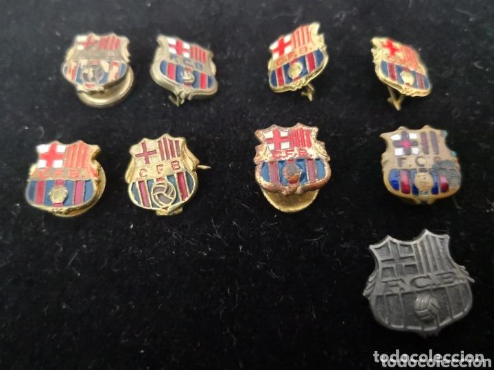 9 PINS FUTBOL CLUB BARCELONA (Coleccionismo Deportivo - Pins de Deportes - Fútbol)