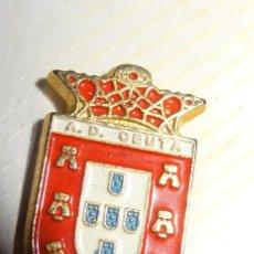 Coleccionismo deportivo: PIN FUTBOL AD CEUTA. Lote 175038870
