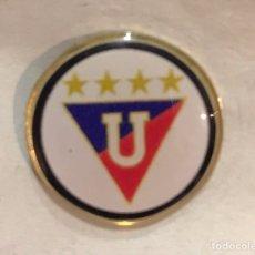 Collectionnisme sportif: PIN DEL EQUIPO DE FÚTBOL LIGA DEPORTIVA UNIVERSITARIA (ECUADOR). Lote 177032377