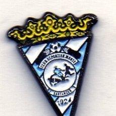 Coleccionismo deportivo: PIN DE FUTBOL-MONTE C.D.-SANTANDER-CANTABRIA. Lote 177188819