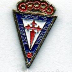 Coleccionismo deportivo: PIN DE FUTBOL-CANTABRIA S.D.-SANTANDER-CANTABRIA. Lote 177188994