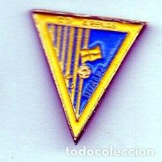 Coleccionismo deportivo: PIN DE FUTBOL-ARENAS C.D.,( DESAPARECIDO )-DUALEZ-CANTABRIA. Lote 177193043