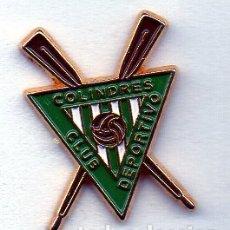 Coleccionismo deportivo: PIN DE FUTBOL-COLINDRES C.D.-COLINDRES-CANTABRIA. Lote 177193260